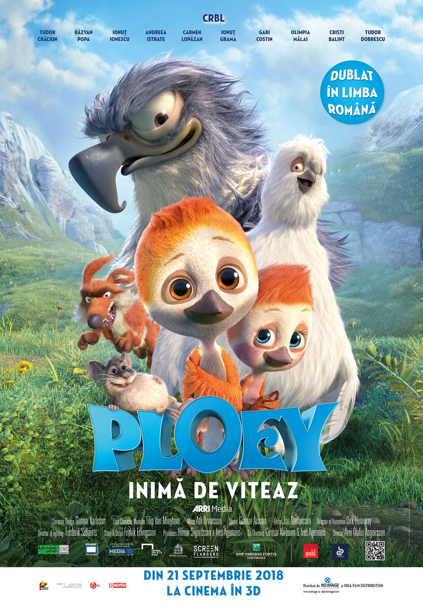 movie poster for Ploey, featuring animals