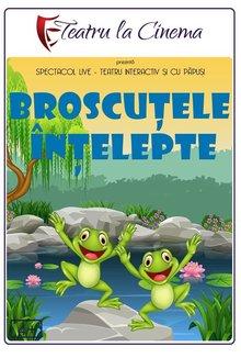Spectacol teatru Broscutele intelepte poster
