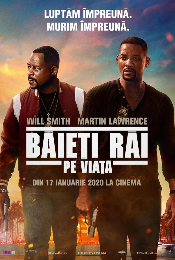 Film Baieti rai pe viata 2D la Arena Mall Bacau in data de 28-01-2020