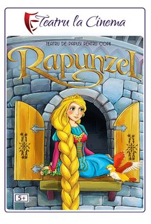 Spectacol teatru Rapunzel poster