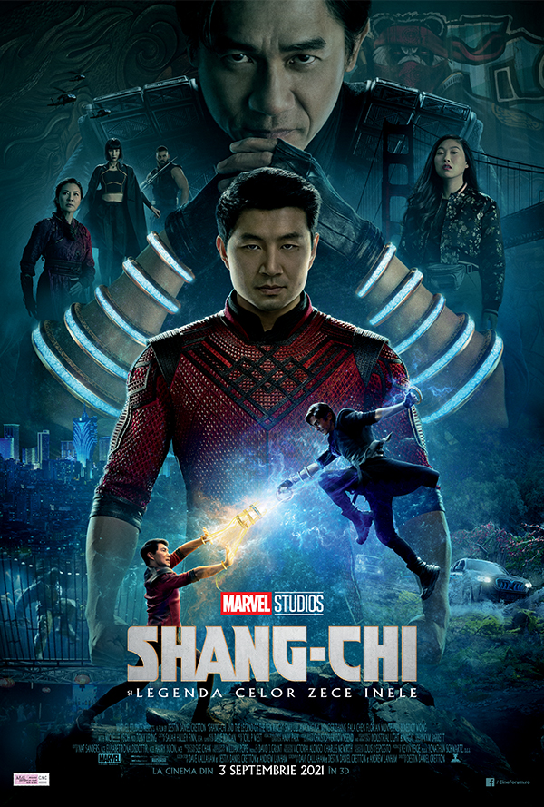Film Shang-Chi si legenda celor zece inele 3D la Arena Mall Bacau in data de 19-10-2021