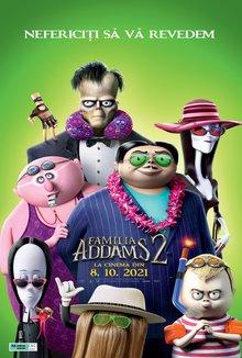 Familia Addams 2 poster
