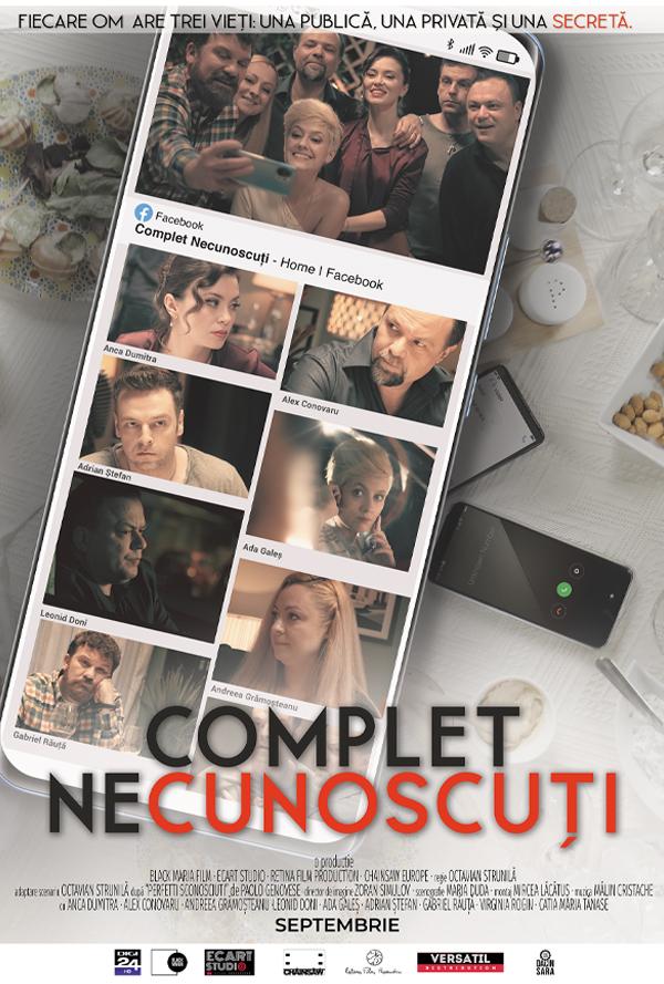 Film Complet Necunoscuti 2D la Arena Mall Bacau in data de 19-10-2021